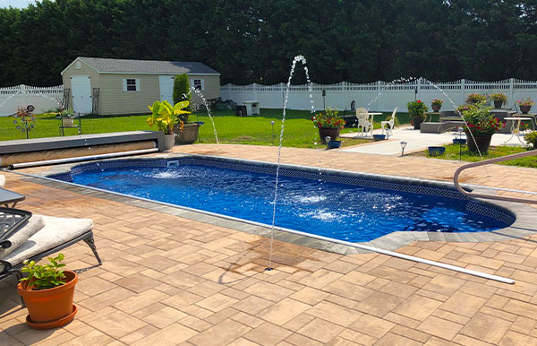 classic fiberglass pool designs models