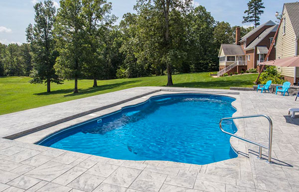 fiberglass pool designs models